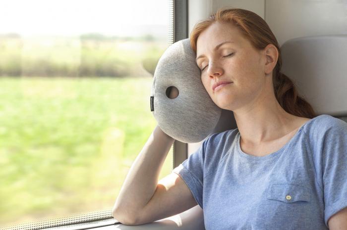 Mini pernă de mână - Handy Pillow Ostrichpillow [0]
