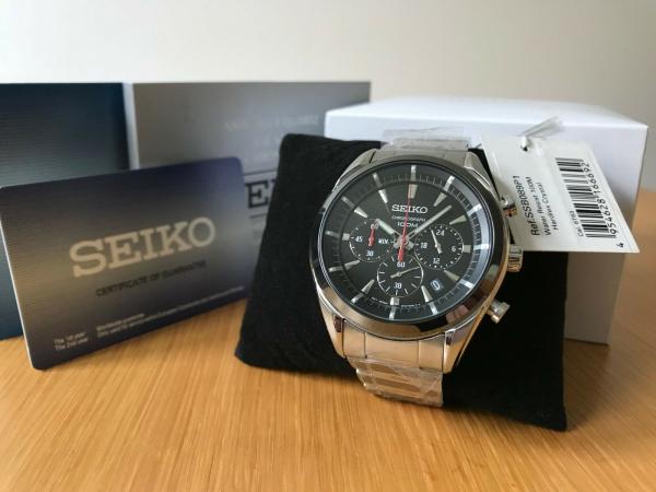 Ceas Seiko Chronograph SSB089P1 3