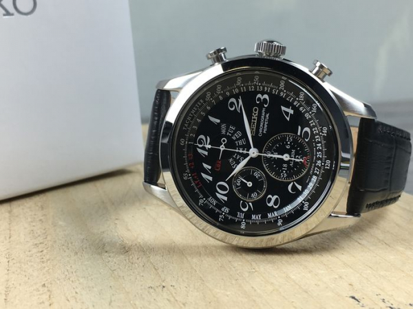 Ceas Seiko Dress Chronograph SPC133P1 4