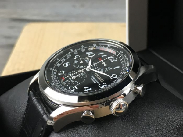 Ceas Seiko Dress Chronograph SPC133P1 2
