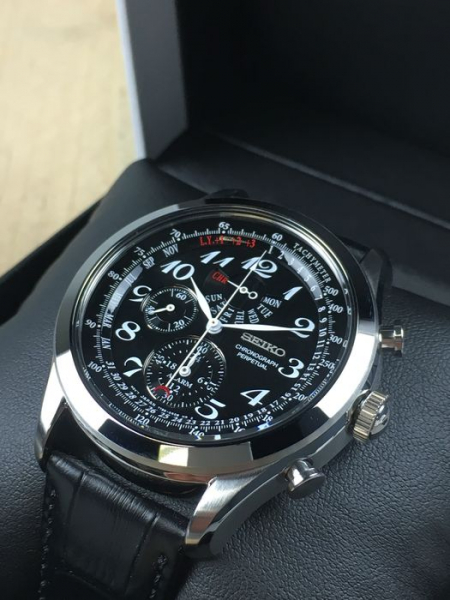Ceas Seiko Dress Chronograph SPC133P1 1