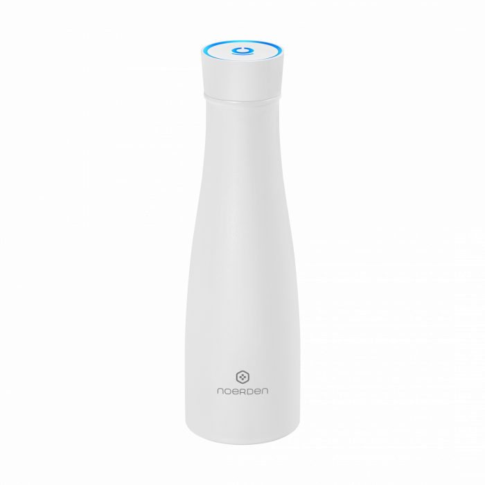 Sticlă pentru apă  reutilizabilă Noerden LIZ Smart Antibacteriană cu sterilizare UV 480ml [2]