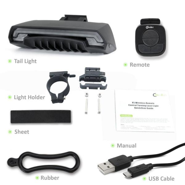 Stop cu semnalizator Wireless Meilan X5 3