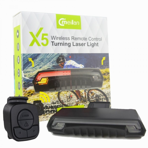Stop cu semnalizator Wireless Meilan X5 4