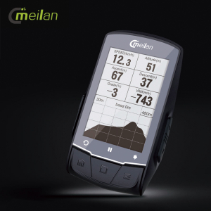 Ciclocomputer cu GPS Meilan M14