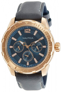 Ceas Nautica STL LEATHER MULTIFUNCTION0