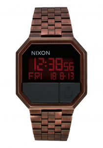 Ceas NIXON Re-Run , Antique Copper0