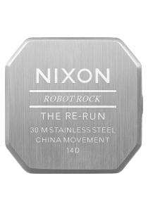 Ceas NIXON Re-Run Argintiu3