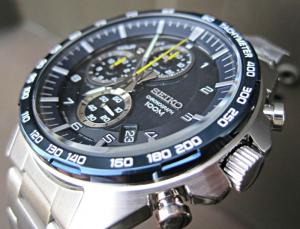 Ceas Seiko Sports Chronograph SSB321P112