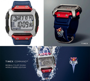 Ceas Timex COMMAND X Red Bull CLIFF DIVING TW5M20800QY1