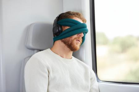 Perna de relaxare pentru ochi Loop Eye Pillow [3]