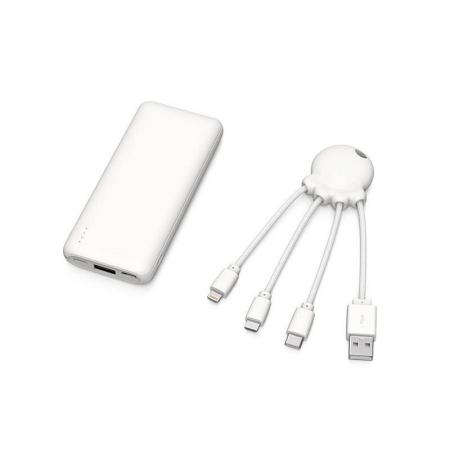 Baterie externă de 7.000 mAh + Cablu de incarcare micro tip C OCTOPUS Bio Xoopar [1]