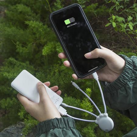 Baterie externă de 7.000 mAh + Cablu de incarcare micro tip C OCTOPUS Bio Xoopar [2]