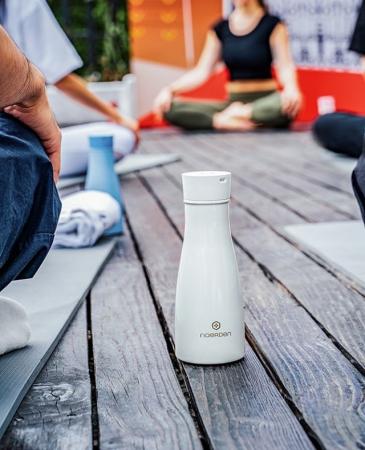 Sticlă pentru apă  reutilizabilă Noerden LIZ Smart Antibacteriană cu sterilizare UV 350ml [5]