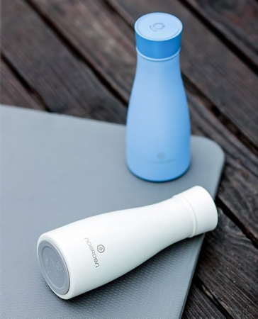 Sticlă pentru apă  reutilizabilă Noerden LIZ Smart Antibacteriană cu sterilizare UV 350ml [7]
