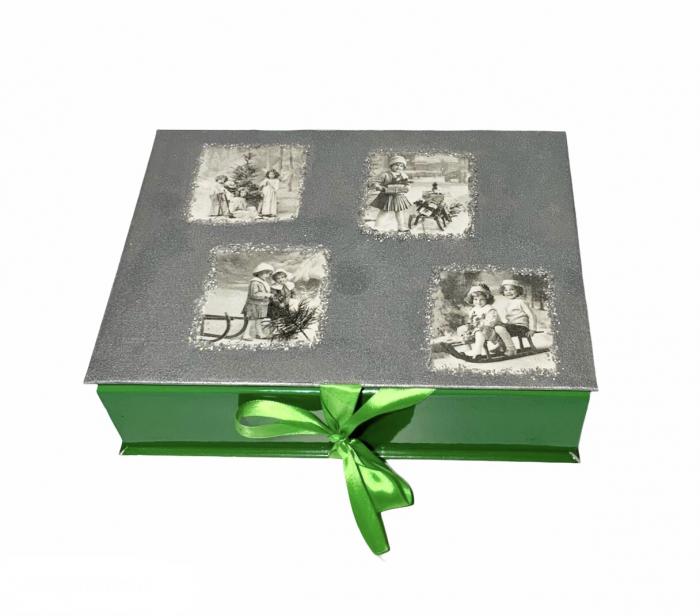 Set globuri VINTAGE CHRISTMAS handmade [1]