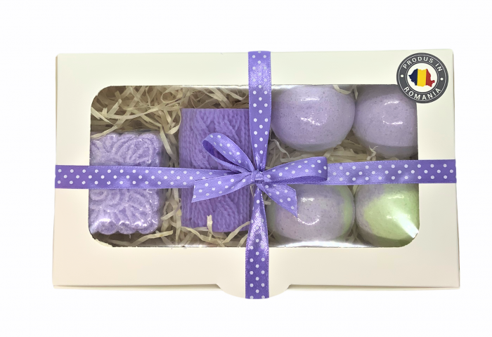 Set cadou LAVENDER RELAXING BATH 1