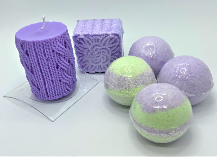 Set cadou LAVENDER RELAXING BATH 2