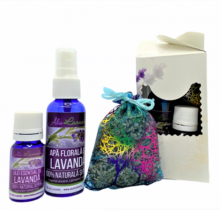 Set LAVENDER SMALL BOX 1