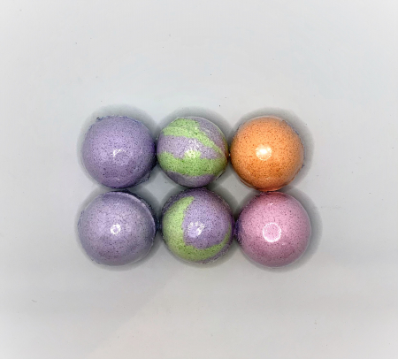 Set LAVENDER BATH BOMBS2