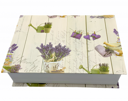 Set LAVENDER BOX2