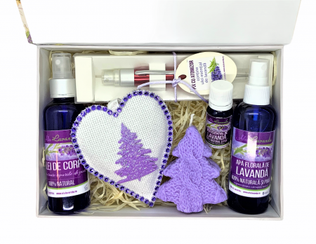 Set LAVENDER BOX0