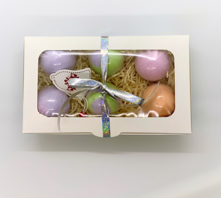 Set LAVENDER BATH BOMBS4