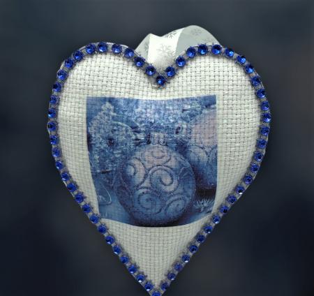 Decorațiune cu flori de lavandă - albastru [2]