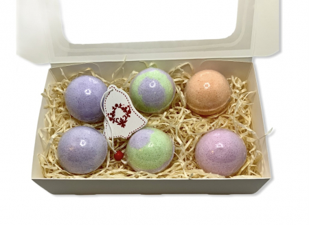 Set LAVENDER BATH BOMBS0