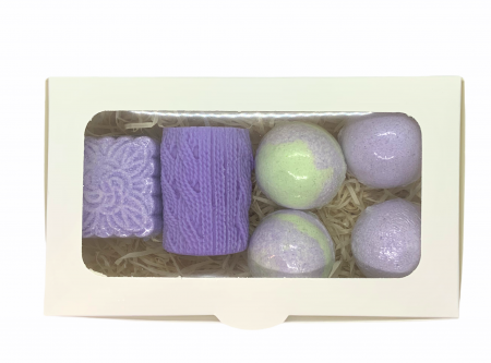 Set cadou LAVENDER RELAXING BATH0