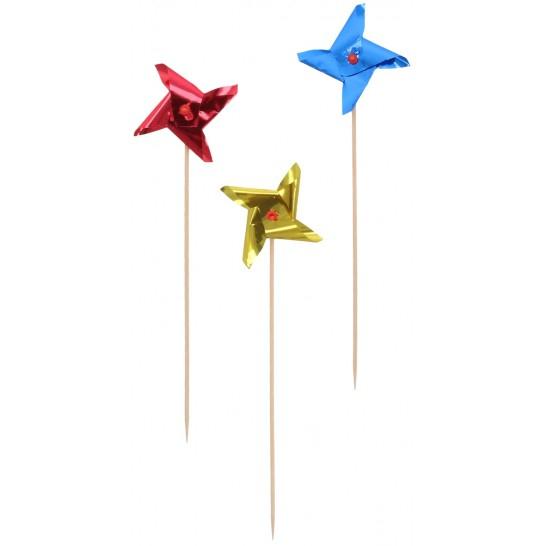 Ornamente si decoratiuni din lemn steag MORISCA 15 cm 0