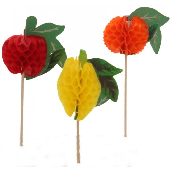 Ornamente si decoratiuni din lemn steag FRUCTE 10 cm 0