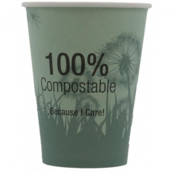 Pahare carton biodegradabile 12Oz, compostabile 0