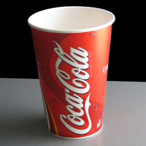Pahare Carton Coca-Cola 650 ml 0