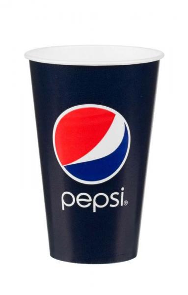 Pahare Carton Pepsi 300 ml 0
