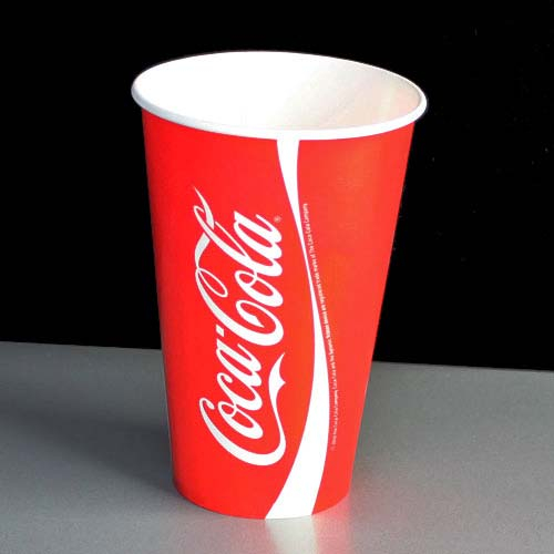 Pahare Carton Coca-Cola 350 ml 0
