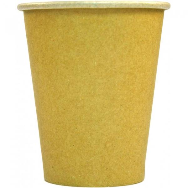 Pahare carton KRAFT natur 230 ml 0