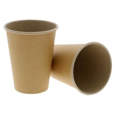 Pahare carton KRAFT natur 350 ml 0