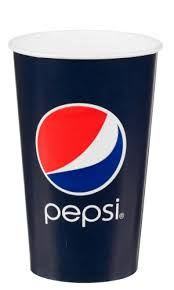 Pahare Carton Pepsi 650 ml 0