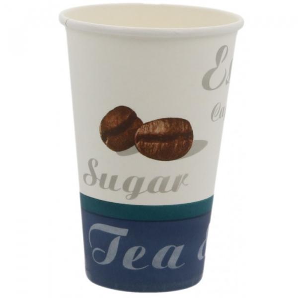 Pahare carton grafica generala Tea & coffee 0