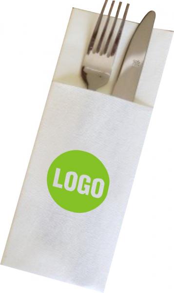 Servetele port tacam, 2 straturi, 8x20 cm, celuloza pura 100% 1