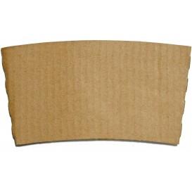 Manson pahare carton 8oz, 9Oz,  10Oz KRAFT natur (100 BUC/SET, 1000 BUC/BAX)0