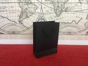 Punga carton NEGRU 11x5x15 cm netiparita, calitate PREMIUM, (50 BUC/SET, 300 BUC/BAX)1