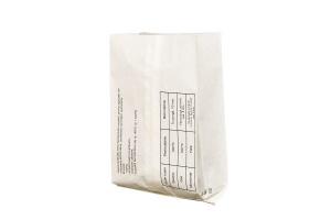 Punga kraft albit groasa tiparite grafica Rotiserie medie, 18x6.5x35 cm (100BUC/SET, 1000 BUC/BAX)1
