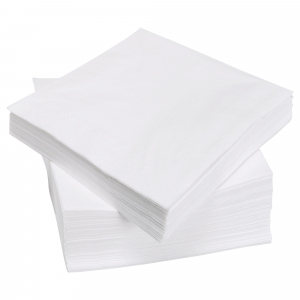 Servetele de masa, 1 strat,  25x25 cm, celuloza pura 100%, (960 BUC/SET)0