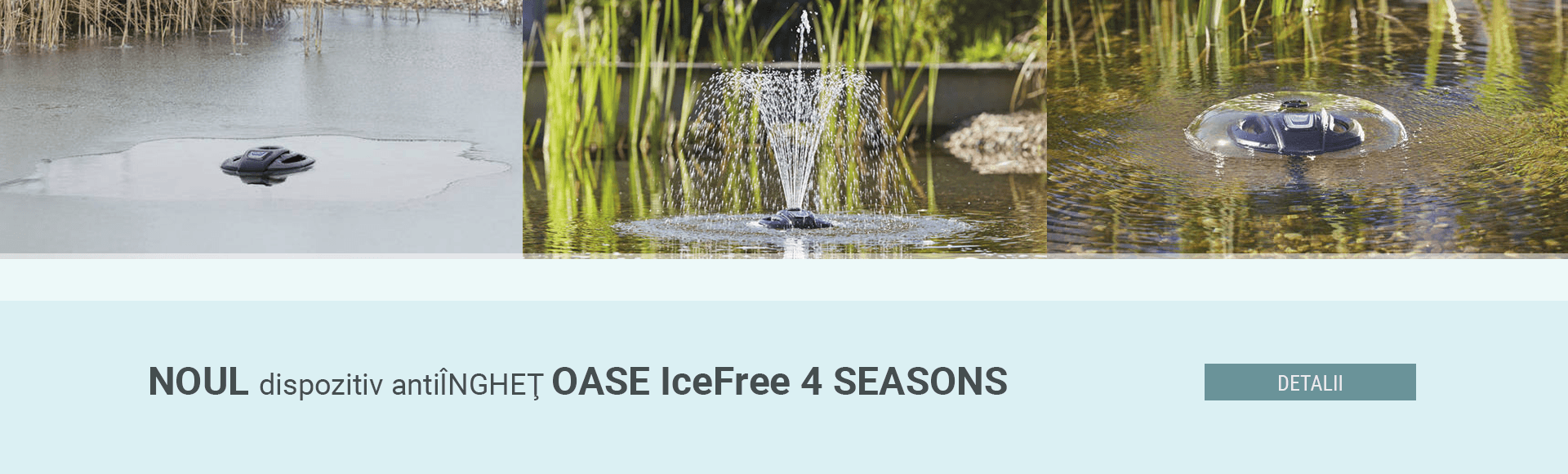Dispozitiv anti inghet Oase IceFree 4 seasons