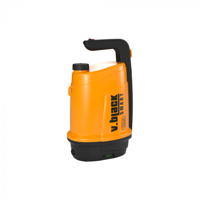 Pulverizator electric Volpi 5 L V-Black Elektron, baterie de litiu, presiune maxima 2 bar [0]