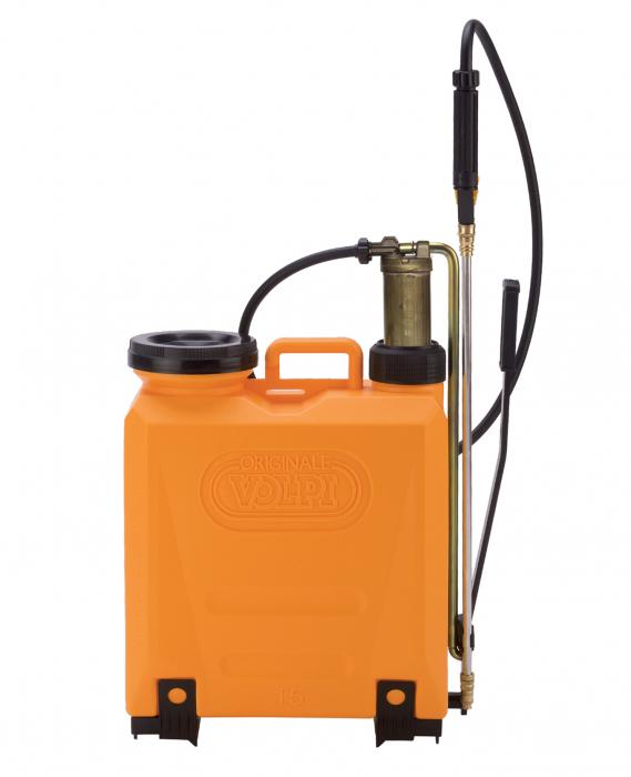 Aparat de stropit Volpi piston cupru 15 litri 0