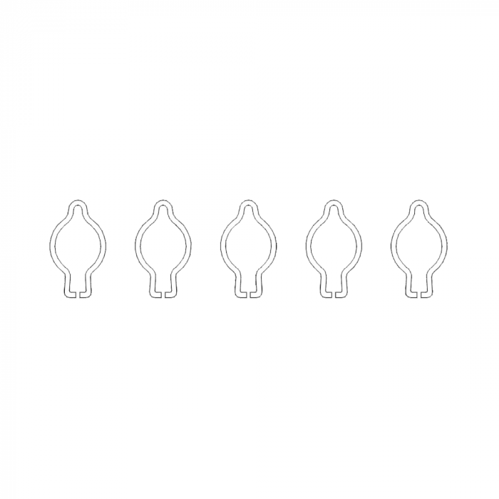Carlig de inchidere pentru foarfecele Vesco A1, A3, A6 0