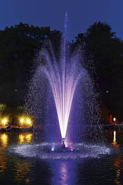 Floating fountain illumination set RGB - Kit 3 spoturi RGB pentru fantani plutitoare 12